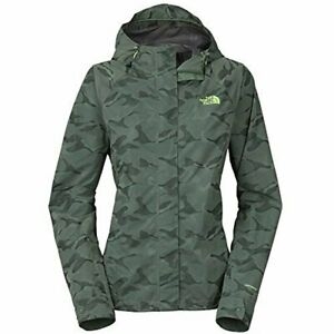 The-North-Face-Womens-Novelty-Venture-Jacket-Laurel-Wreath-Green-Camo-Size-Large