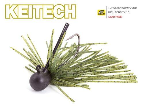 Keitech Guard Spin Jig Watermelon PP 1.8g