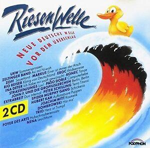 RiesenWelle-Rio-Reiser-Nina-Hagen-Band-Andreas-Dorauund-Die-Marinas-2-CD
