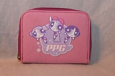 NEW WITH TAGS   PINK PPG POWERPUFF GIRLS COIN WALLET