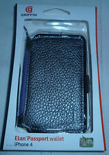 IPhone 4 Griffin Elan Passport Wallet GB01715 (classe 1st Platinum P + P)