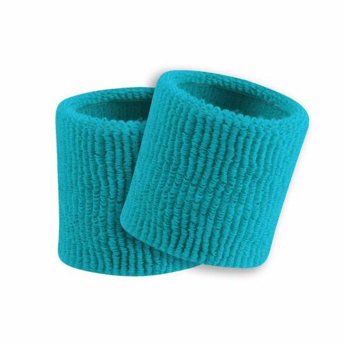 "TCK Sports 3.5/"" Wristbands Basketball Football 1-pair Terry Soft Knit"