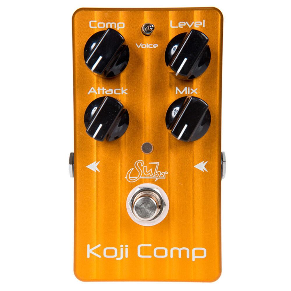 Suhr Koji Comp Compressor Guitar Effects Pedal + Picks