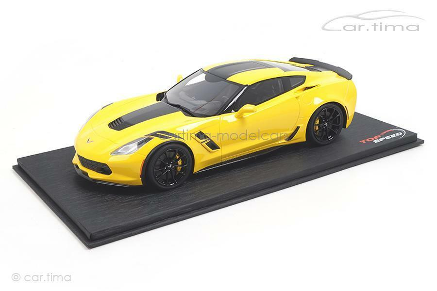 CHEVROLET Corvette Grand Sport-CORVETTE RACING amarillo - 1 of 999-topspeed 1