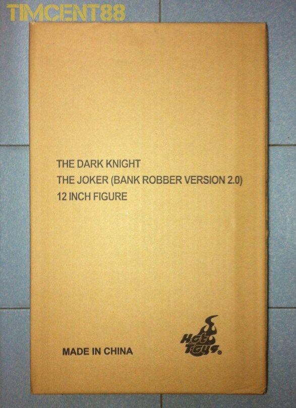 Ready Hot Toys MMS249 Batman Dark Knight TDK Joker Bank Robber 2.0 Exclusive