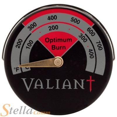 Thermomètre de tuyau de cheminée de poêle à bois magnétique 9H