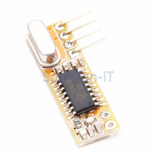 RXB12 433Mhz Superheterodyne Wireless Receiver Module for Arduino//AVR