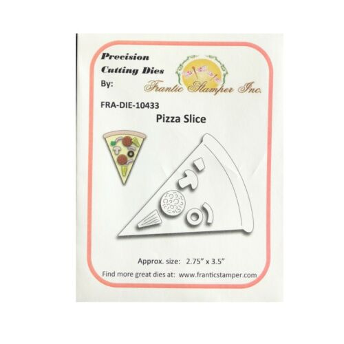 Pizza Slice Metal Die Cuts Frantic Stamper Cutting Dies Food,celebration,