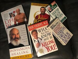 Lot-of-6-BOOKS-Diet-Health-Fitness-Lose-Weight-Loss-Program