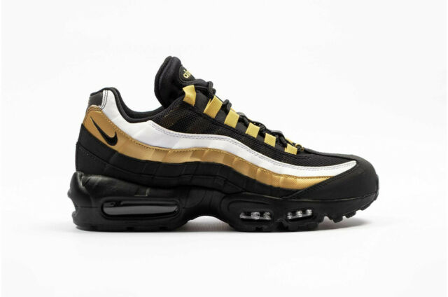 Nike Air Max 95 OG Sneakers Womens Size Black Gold