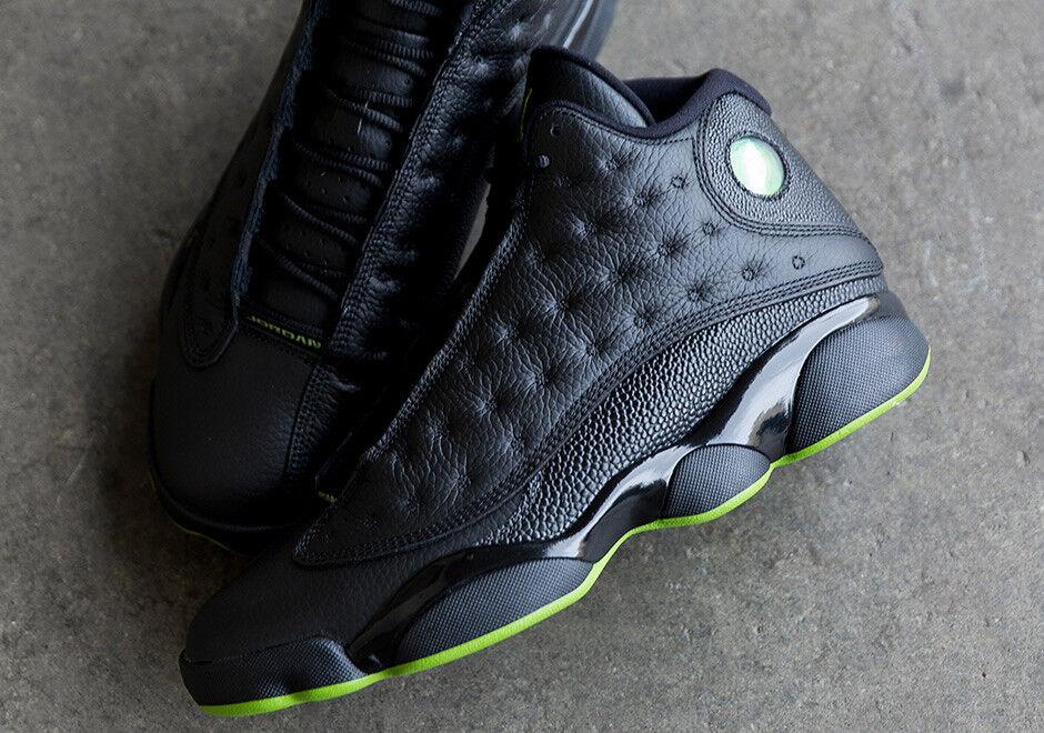 Nike retro air jordan 13 retro Nike - 414571-042 höhe schwarze größe 12,5 usa sz 47 eu neue ds 6f7f04