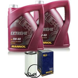 Olwechsel-Set-10L-MANNOL-Extreme-5W-40-Motoroel-SCT-Filter-KIT-10203638