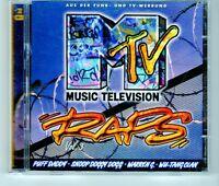 (HJ697) MTV, Raps Vol 3, 36 tracks various artists - 1997 double CD