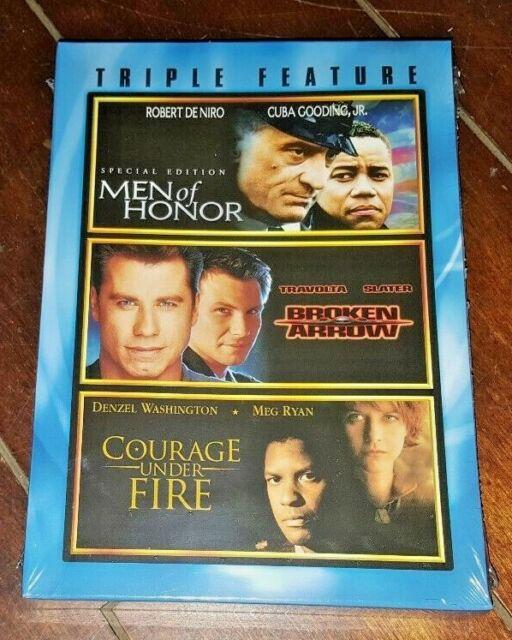 Triple Feature Courage Under Fire Broken Arrow Men of Honor 5 Star Lineup  Here