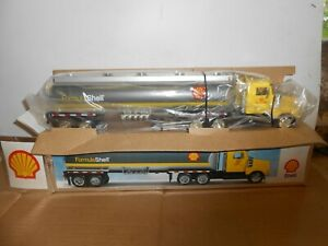 toy truck formula shell 6th in series 1998