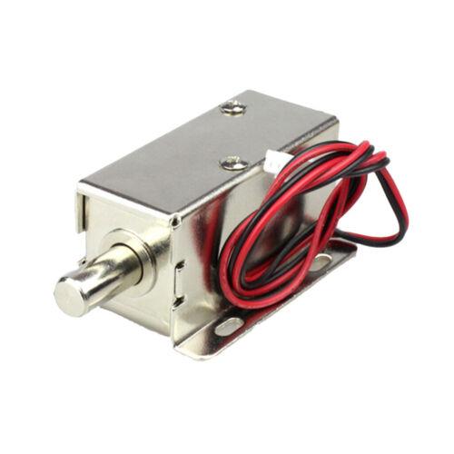 DC12V Mini Elektrisches Schloss Eletroschloss Zugangskontrolle für Tür
