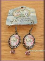 Love Earrings By Kelly Rae Roberts Jewelry And Fashion Free U.s. Shipping