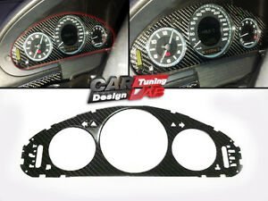 1-Carbon-CF-Cluster-Dashboard-Meter-Gauge-cover-Fits-Mercedes-Benz-W211-E-Class