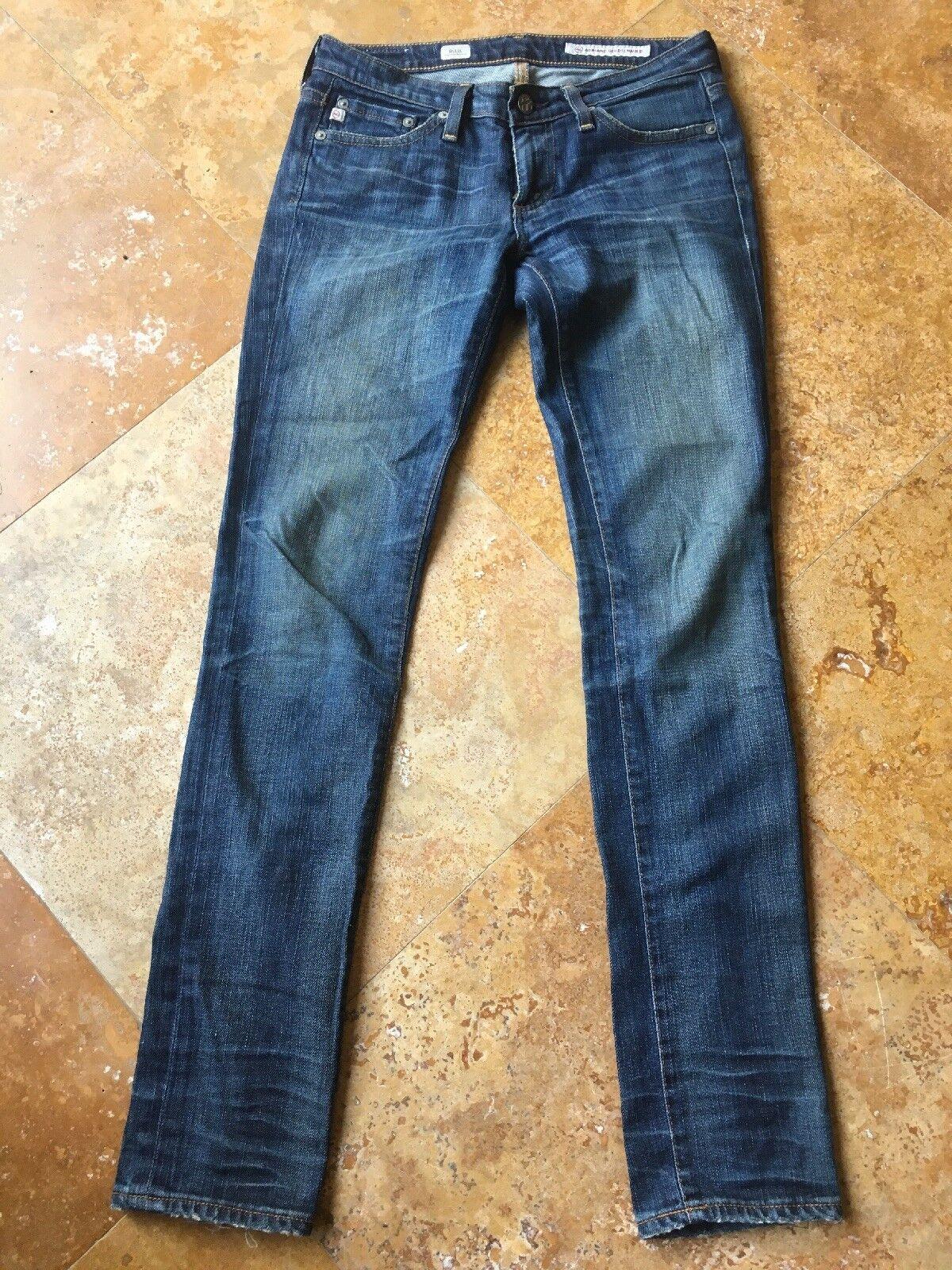 Adriano goldschmied The Stilt Cigarette Leg Stretch Jeans, Medium Wash, 24 R