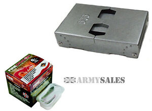 """BCB Latest British Military /""""ALL WEATHER/"""" FIRE DRAGON Cooker and Fuel FREE MUG"""