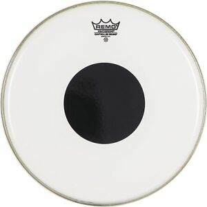 Remo-Controlled-Sound-Clear-Black-Dot-CS-03-Drumheads-Many-Sizes-Available