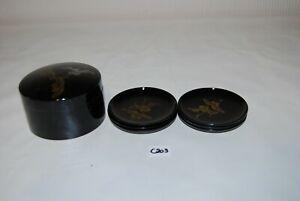 C203 6 sous verres - laqué noir - style asiatique UoCOYkzn-09120747-447132321