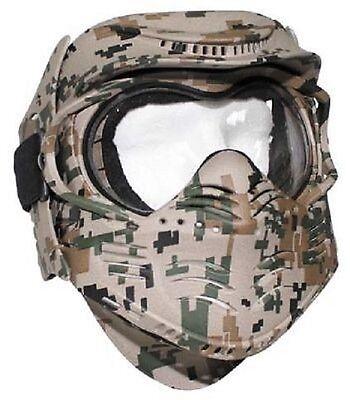 Fight Face Mask Gesichtsschutz Maske Us Digital Woodland Camouflage Gotcha Komplette Artikelauswahl