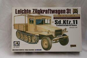 AFV-Club-AF-35047-1-35-Leichter-Zugkraftwagen-3t-Sd-Kfz-11-Einheitsfahrerhaus