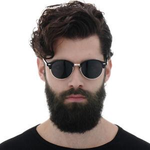 Geschicktes Design wie man kauft weit verbreitet Details zu Neue Männer Sonnenbrille HD Polarisierte Anti Glare UV400 Runde  Brille Gespiegel