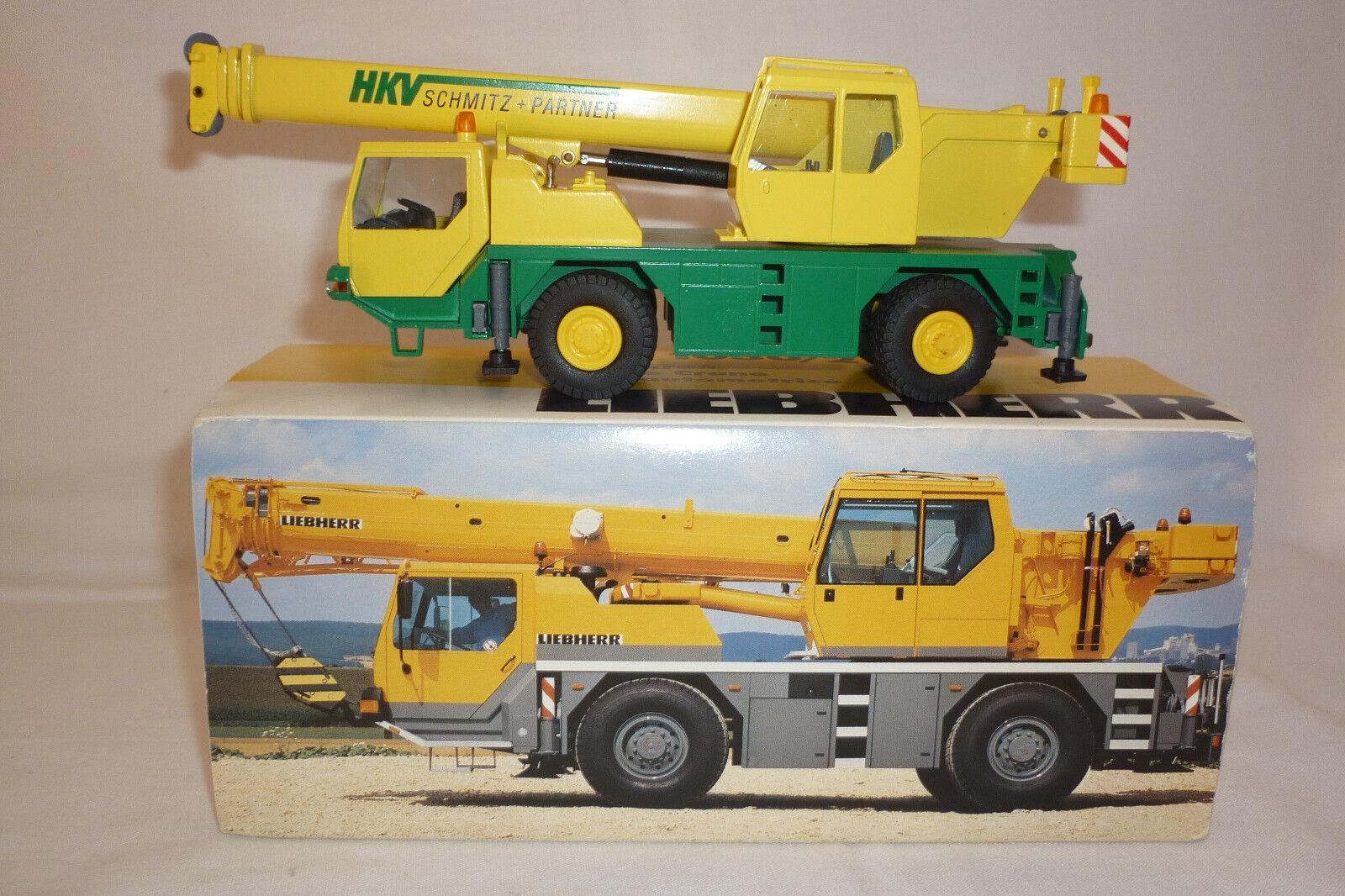 Conrad - Metal Model Liebherr Hkv Schmitz + Partner Mobile Crane 1 50 Ovp 7.bm-2