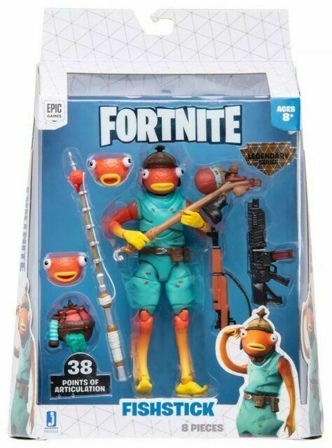 Were Can You Find Fortnite Toys Jazwares Fortnite Legendary Series Fishstick 6 Action Figure Fnt0524 For Sale Online Ebay