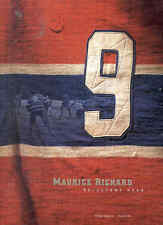 Maurice Richard Reluctant Hero Hockey Book  Montreal Canadiens