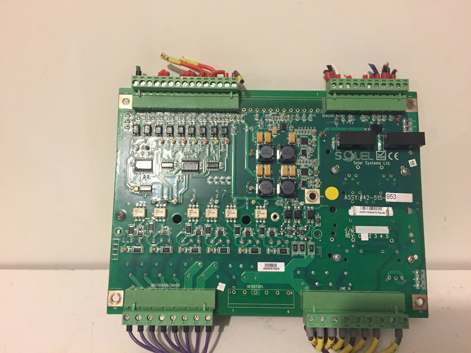 SOLAR SYSTEM SOLEL BOARD 42-515-953