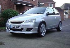 Vauxhall Opel Corsa C Irmscher Front Bumper Lip/Splitter 2004-2006 - Brand New!