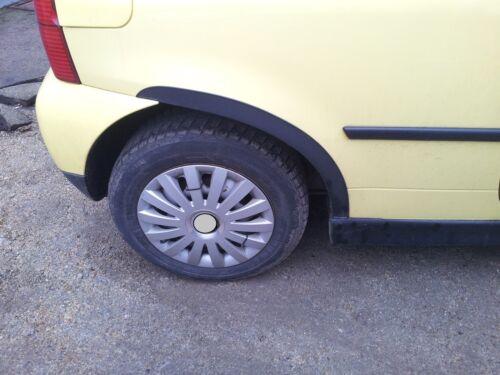 VW LUPO RUOTA BARRE ornamentali Set 2 PEZZI POSTERIORE NERO OPACO Bj/' 1998-2005