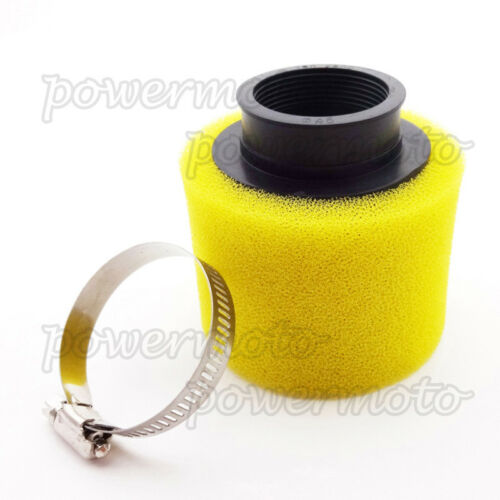 45mm Air Filter Yellow Clearner For  Pit Bike 125cc 140cc 150cc ATV Quad Scooter