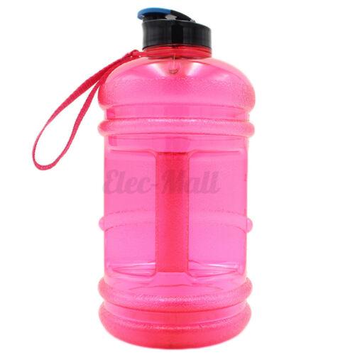 2.2L Sports Water Bottle Drink Big Large Cap Kettle Workout BPA Sport Gym