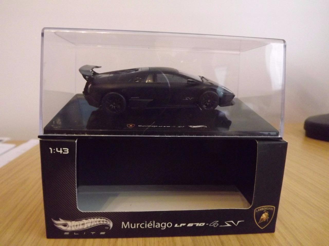 Wa113 Wa113 Wa113  Hot Wheels Elite 1 43 Lamborghini Murcielago LP 670 - 4 SV T6936 MIB 272aa0