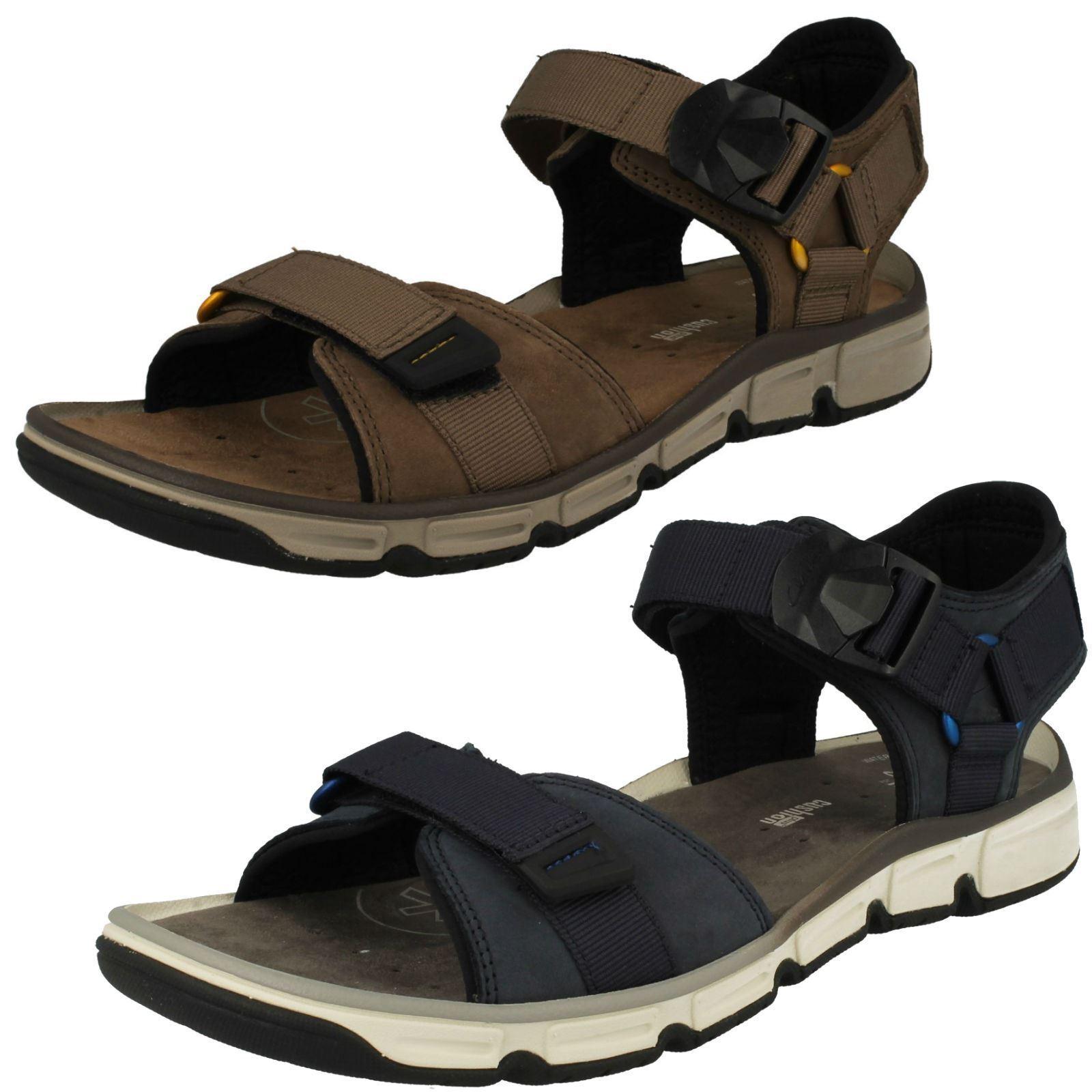 Mens Clarks Open Toe Summer Sandal 'Explore Part' Part' Part' 8034fc