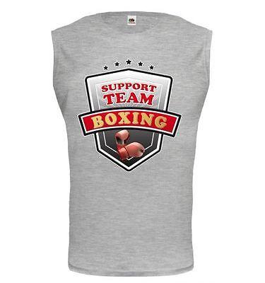 Shirts & Hemden Boxen Vornehm Muskelshirt ärmellos Tank Top Boxing-support Team Boxen Boxsport Kampfsport