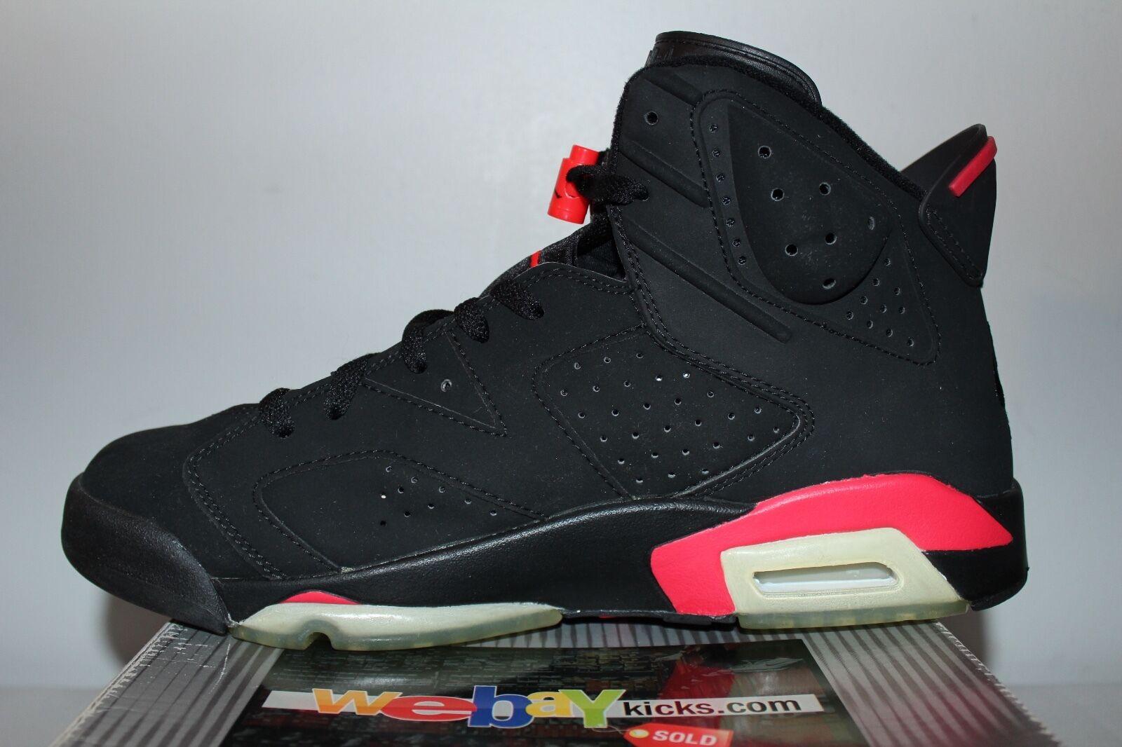 5a6738af8565 ... Air Jordan Retro 6 VI Nike Nike Nike 2000 OG Infrared Black Sneakers  Men s Size 11.5 ...