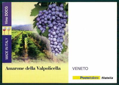 "Italien Werbekarte ""made In Italy"" Weinanbau Wein Wine Trauben Veneto Ed50 100% Original"