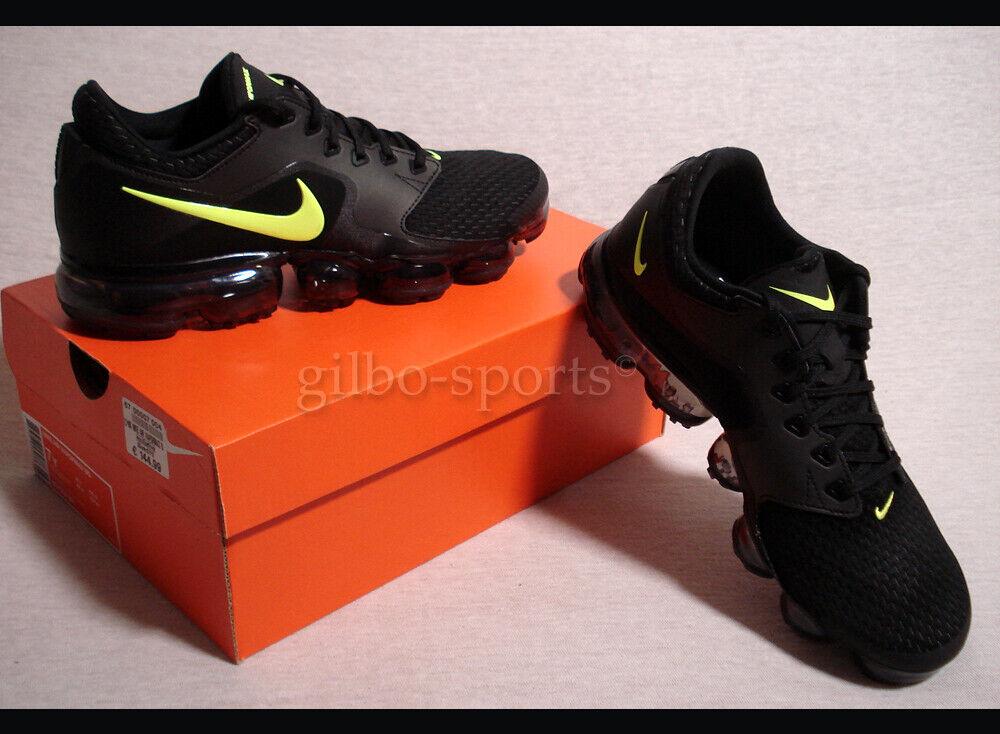 Nike Air Vapormax BG Black Volt Yellow Gr. 40 black  BQ7552 001 BVB