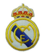 soccer team REAL MADRID Spain football Iron-on/Sew-on Embroidered PATCH/applique