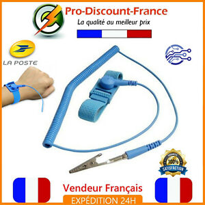 Bracelet-Antistatique-Masse-Electricite-statique-Electronique-Terre-Arduino