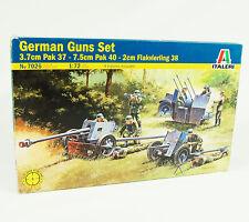German Guns Set 1:72 Italeri 7026 Wehrmacht Geschütz