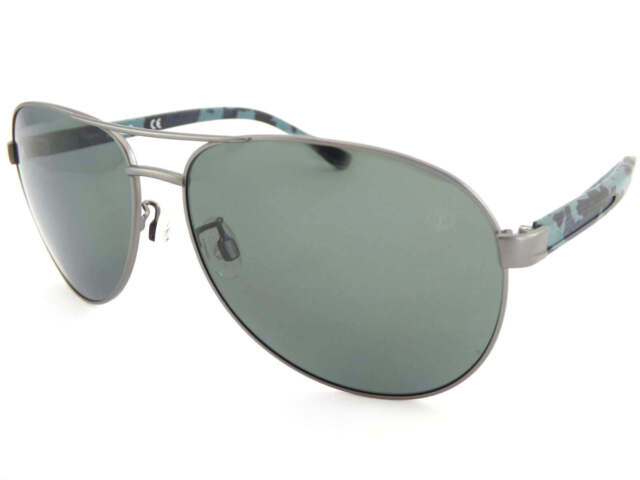 41e9fa22c3 TIMBERLAND polarized Sunglasses Gunmetal   Blue Camo Arms TB9086 09D