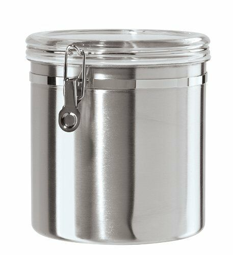 Wondrous Oggi Jumbo Stainless Steel Kitchen Canister Best Image Libraries Thycampuscom