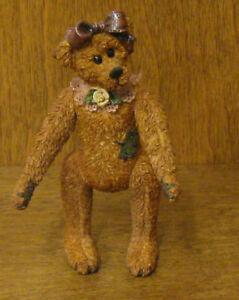 Boyds Original Shoebox Bear 3201 Gertrude Gertie Grizberg Jointed New Box Ebay