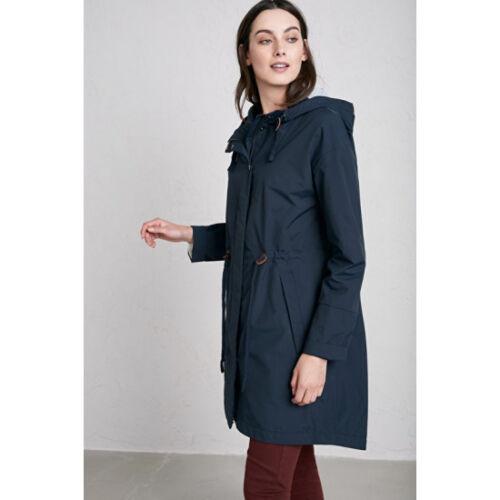 Seasalt Bnwt Jacket 10 Coat Blue Mac Rrp Siz Porthchapel £140 Waterproof aqBdwfq